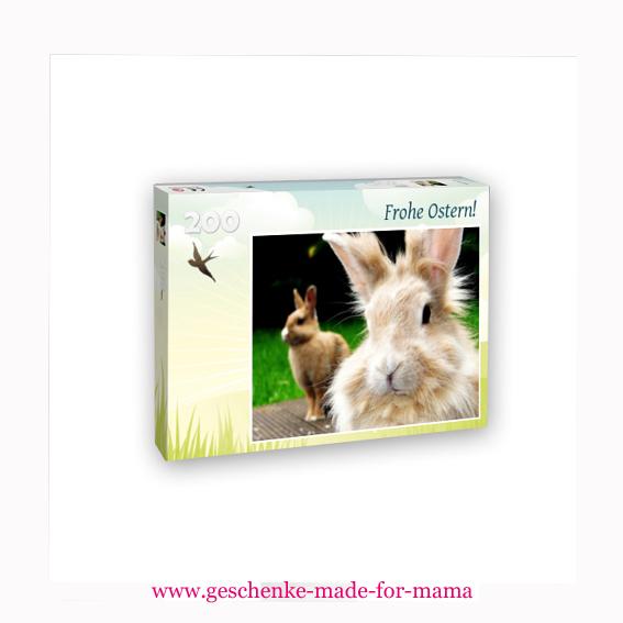 hochwertiges 200-Teile-Puzzle aus eigenem Foto www.geschenke-made-for-mama.de