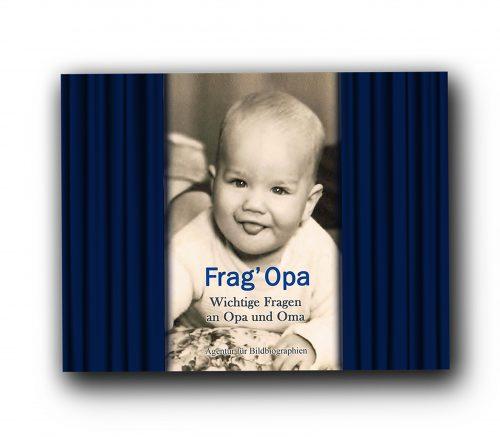 Frag Opa Geschenk und Erinnerungsbuch