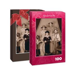 100-Teile-Puzzle aus eigenem Foto in Markenqualität
