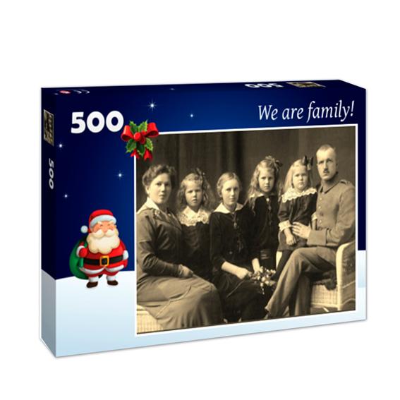 hochwertiges 500-Teile-Puzzle aus eigenem Foto