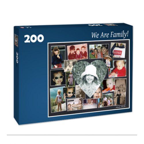 Fotocollagenpuzzle aus eigenen Fotos Agentur für Bildbiographien