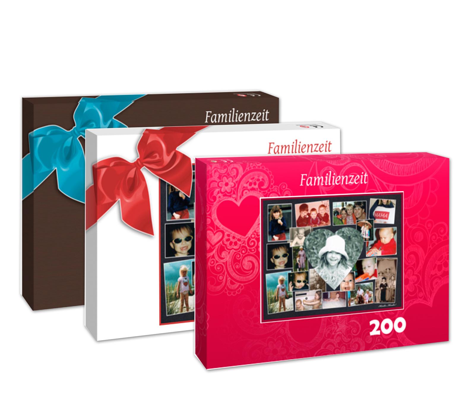 layoutvorschl ge geschenkverpackung f r 200 teile puzzle aus fotocollage exklusive geschenke. Black Bedroom Furniture Sets. Home Design Ideas