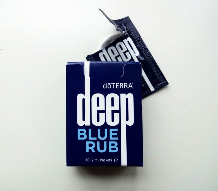 Massagecreme Deep Blu Rub Verpackung