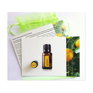 Duftprobe reines Zitronenöl inklusive Anwendungsempfehlung