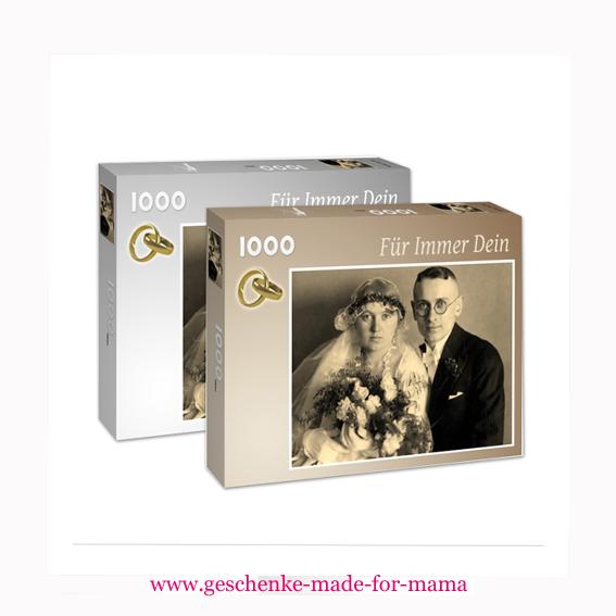 Puzzle in Markenqualität aus eigenem Foto 1000 Teile www.geschenke-made-for-mama.de