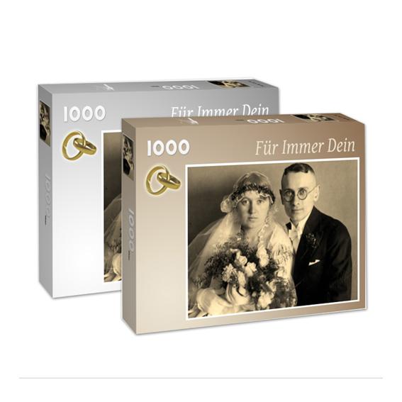 Puzzle in Markenqualität aus eigenem Foto 1000 Teile