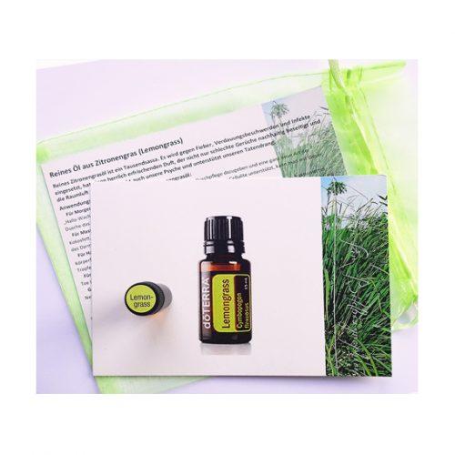 1ml reines Zitronengrasöl zum Probiern - Lemongras -für gute Luft und gute Laune