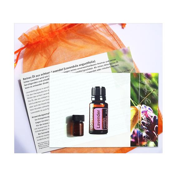 Ätherisches Öl aus echtem Lavendel zum Probieren
