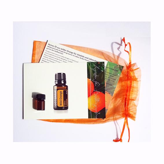 Reines Öl aus wildwachsender Orange zum Probieren
