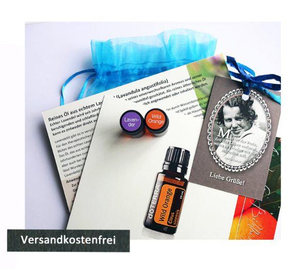 Lavendelöl und reines Öl aus wilder Orange als Probierset bei Unruhe und Aufregung