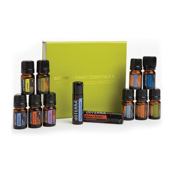 Das Doterra Family Essentials und Beadlet Kit