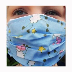 waschbare Behelfs-Mund-Nasenschutzmaske Schäfchen Geschenke made for Mama
