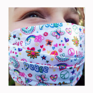 Mund-Nasenschutzmaske Peace Geschenke made for Mama