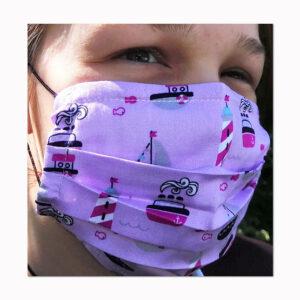 Behelfs-Mund-Nasenschutzmaske Peace Geschenke made for Mama