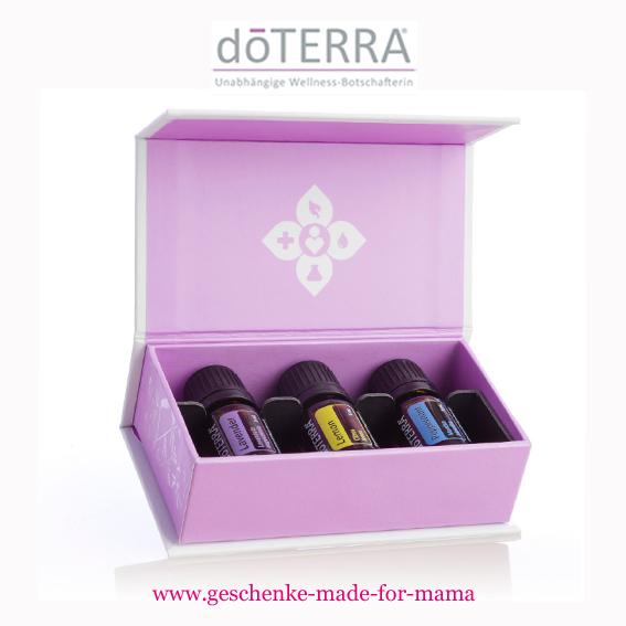Doterra Einsteiger Set ätherische Öle www.geschenke-made-for-mama.de