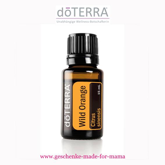 Doterra reines Öl wilde Orange 15 ml www.geschenke-made-for-mama.de